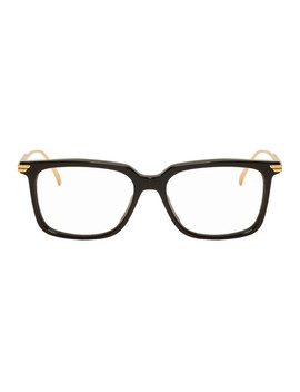 black-square-glasses by bottega-veneta