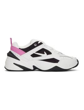white-&-black-m2k-tekno-sneakers by nike