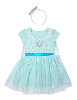 disney-frozen-elsa-toddler-girl-costume-tutu-dress-with-headband by frozen