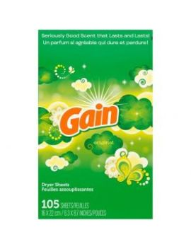 gain-fabric-softener-dryer-sheets,-original-scent,-105-count by dollar-general