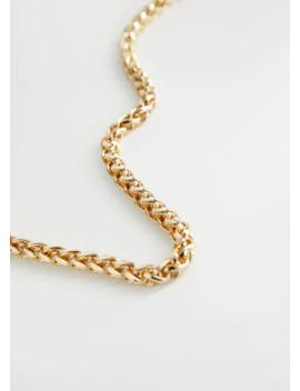 collar-cadena-metálica by mango