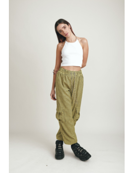 Yellow Check Pant by The Ragged Priest