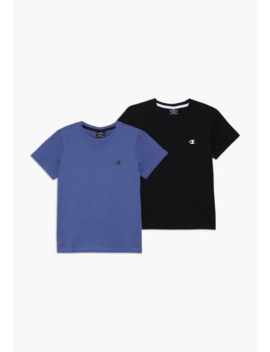 Basics Crew Neck 2 Pack   Basic T Shirt by Champion