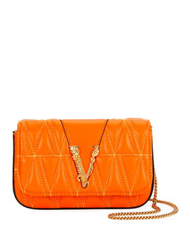 quilted-napa-shoulder-bag by versace