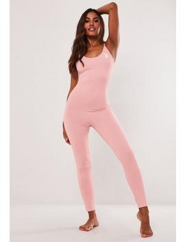 playboy-x-missguided-pink-loungewear-unitard by missguided