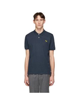 navy-slim-fit-polo by ps-by-paul-smith