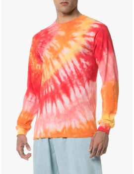 Tie Dye Cotton Sweatshirt by Stain Shade