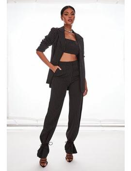 black-co-ord-pinstripe-oversized-trousers by missguided