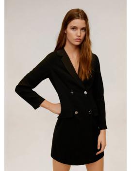 vestito-blazer-doppia-abbottonatura by mango