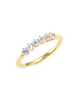 14k-yellow-goldplated-&-rainbow-moonstone-ring by astley-clarke
