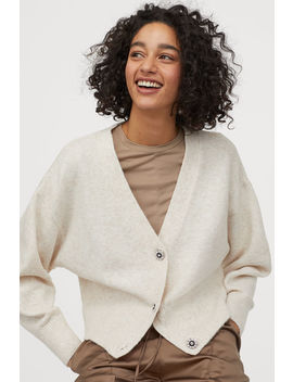 cardigan-with-sparkly-buttons by h&m