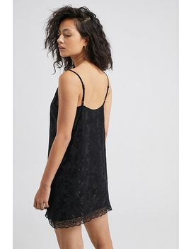 uo-jacquard-lace-trim-slip-mini-dress by urban-outfitters