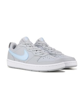 Kids' Court Borough 2 Low Top Sneaker Grade School by Nike