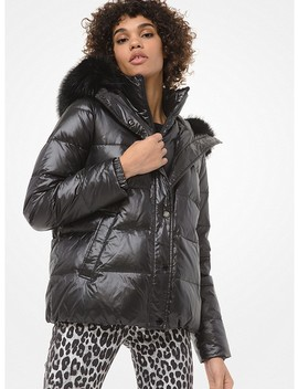 faux-fur-trim-cropped-puffer-jacket by michael-michael-kors