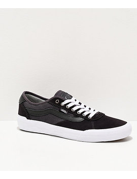 vans-chima-pro-2-obsidian-&-drizzle-grey-skate-shoes by vans
