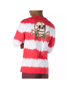 Tie Dyed Bad Trip Long Sleeve T Shirt by Vans