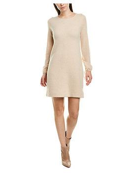 white-+-warren-tie-sleeve-sweaterdress by white-+-warren