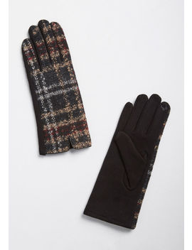Met With Warmth Gloves by Modcloth