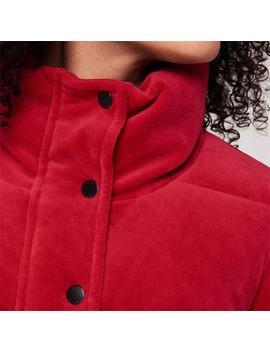 velour-padded-coat by dkny-sport