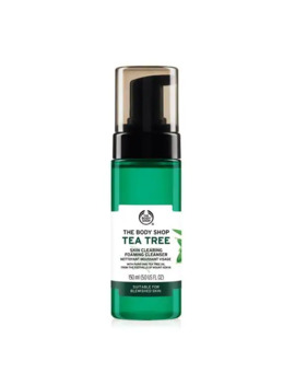 Tea Tree Oil Skin Clearing Foaming Cleanser by The Body Shop