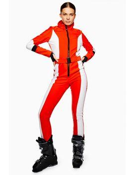 **Colour Block Snow Suit By Topshop Sno by Topshop