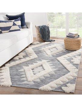 Vermehr Geometric Gray/Beige Indoor/Outdoor Area Rug by Allmodern