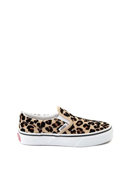 Vans Slip On Skate Shoe   Little Kid / Big Kid   Leopard by Vans
