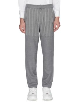 Pinstripe Panel Pants by Uncensored