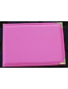 """Bright Pink Photo Album 6""""X4"""" Holds 36 Photos by Unbranded"""
