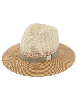 Chic Braid Fedora Hat by Accessorize