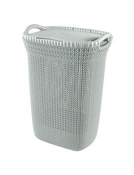Curver Knit 60 Litre Laundry Hamper by Dunelm