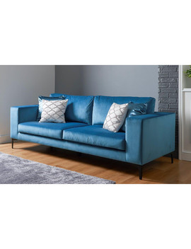 Cosmo Velvet Sofa by The Range