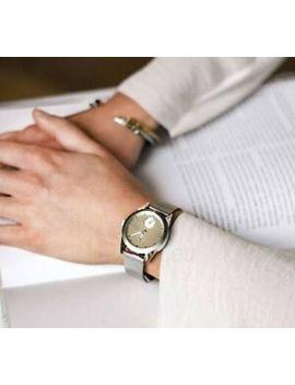 Triwa Watch Birch Aska Silver Mesh Super Slim Rrp $350 by Triwa