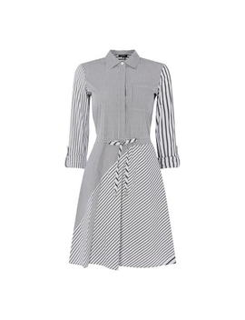 Long Sleeve Button Dress by Dkny