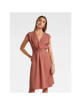 Channa Tie Detail Midi Dress by Forever New