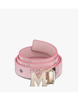 "Claus M Reversible Belt 1"" In Visetos by Mcm"