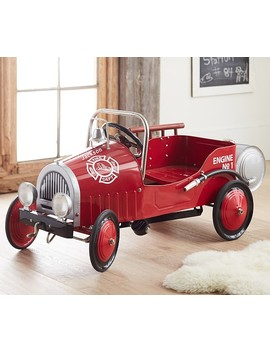 Firetruck Pedal Car by Pottery Barn Kids
