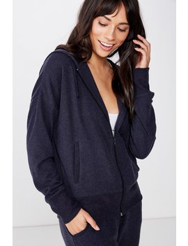 Supersoft Zip Through by Cotton On