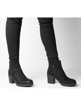 Grace Quilted Heeled Chelsea Boots by Vagabond