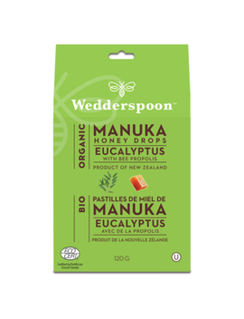Wedderspoon Organic Organic Manuka Honey Drops by Well