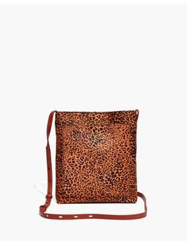 The Slim Brooklyn Crossbody Bag In Mini Leopard Calf Hair by Madewell