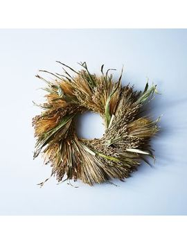 Natural Grasses Wreath by Creekside Farms