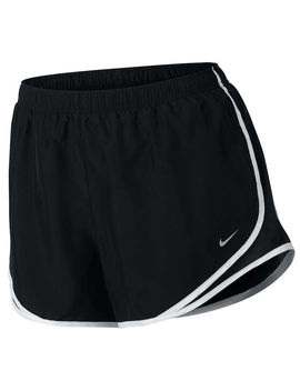 Nike Womens Tempo Running Shorts Plus Black / White Xl by Nike