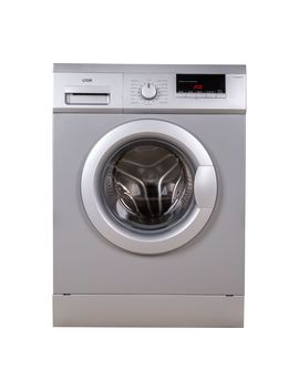 L814 Wms17 8 Kg 1400 Spin Washing Machine   Silver by Currys