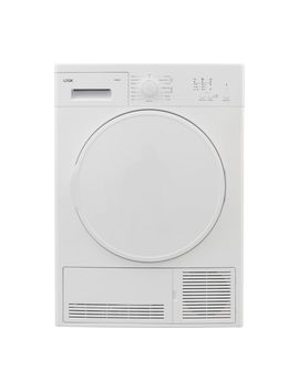 Lcd8 W18 8 Kg Condenser Tumble Dryer   White by Currys