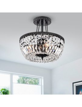 Aspinwall 3 Light Semi Flush Mount by Joss & Main