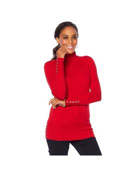 "<Span Class=""Callout Exclusive"">Exclusive!</Span>                  Dg2 By Diane Gilman Quad Blend Classic Turtleneck by Diane Gilman"