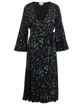 Wrap Dress by Ganni
