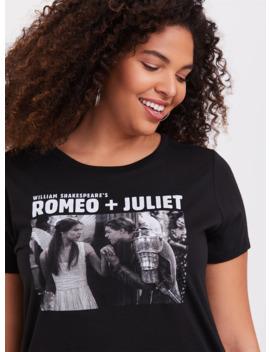 Romeo + Juliet Black Slim Fit Crew Tee by Torrid