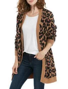 Women's Long Sleeve Cardigan by New Directions